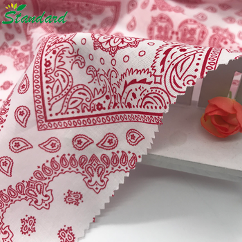 export quality 100% cotton reactive printed compact combed yarn lightweight voile fabric for women kerchief