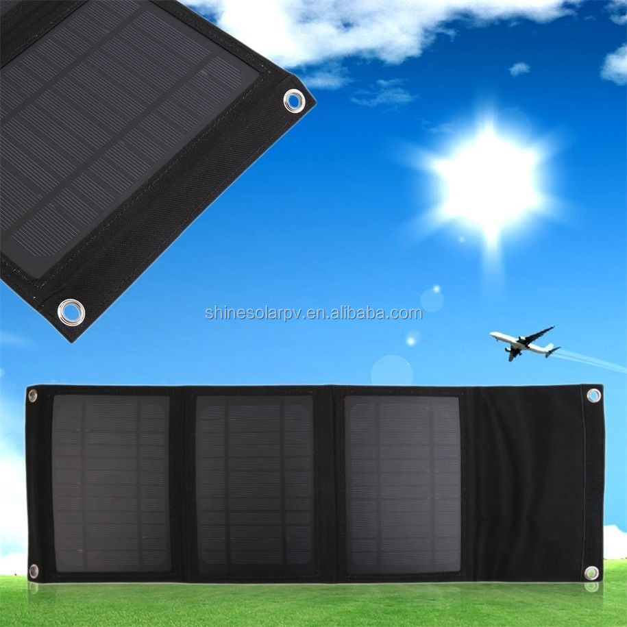 12w Solar Foldable Charger High Efficiency Solar Panel Charger Portable Foldable Outdoor for Travel,camping,hiking