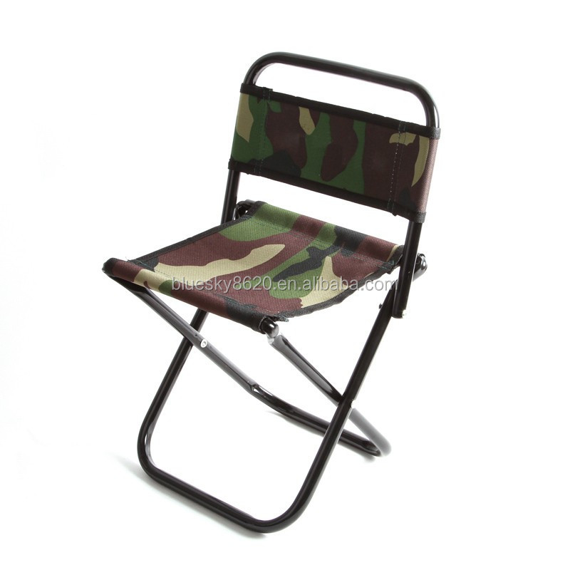 Metal Camping Outdoor Folding Chair Fabric Chair Folding Chair With Backrest