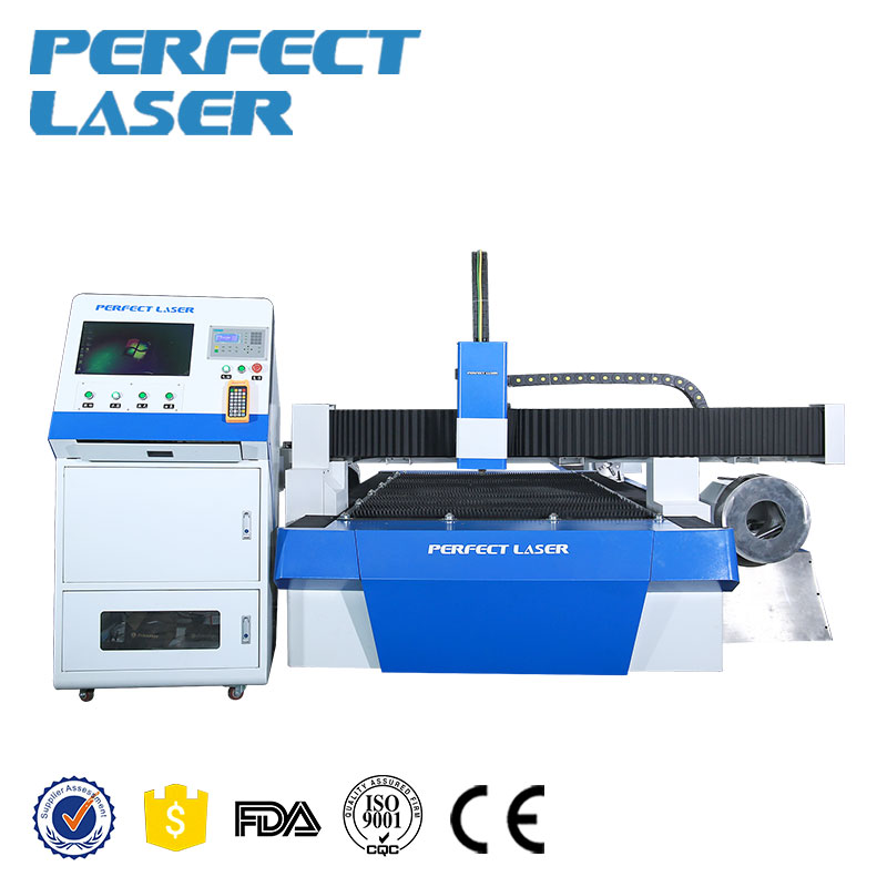 China Fiber Laser Sheet/Pijp Metalen Snijmachines, Rvs/Aluminium/Ijzer/Coppers/Carbon