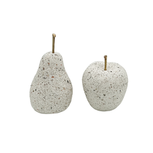 Terrazzo pear และ apple ตกแต่งโต๊ะ apple ตกแต่งและ modern <span class=keywords><strong>home</strong></span> <span class=keywords><strong>decor</strong></span>