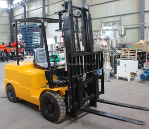 competitive china forklift truck, 1 ton load small electric forklift price, small battery operated forklift for sale