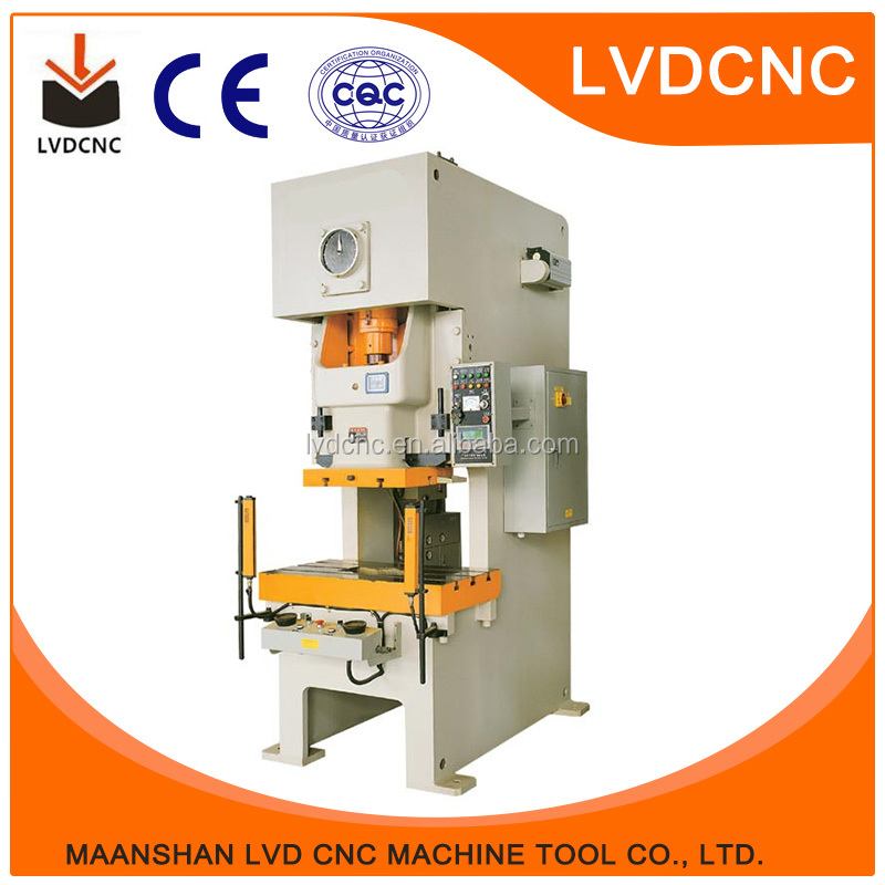 Factory Sale High Precision Widely Application aluminum hole punching machine 25T mechanical power pressJH21