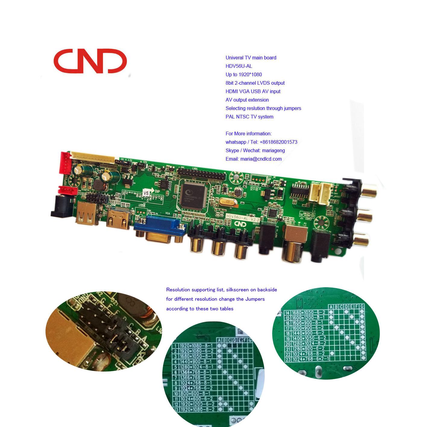 Hdv56u Universal V56 2av Rca Mstar Tv Main Board - Buy Hdv56u-al,Mstar Tv  Main Board,2av Tv Main Board Product on Alibaba com