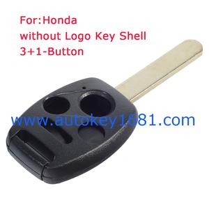 3+1-Button Key Remote Case For Honda Accord CRV Civic CRZ Jazz City