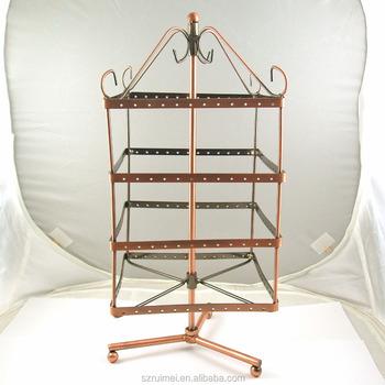 Countertop Revolving Metal Earring Jewelry Display Stand Buy Awesome Revolving Jewelry Display Stand