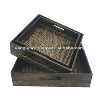 Rattan Tray for New year / Rattan Basket