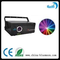 Factory price stage lighting 1W RGB multi color disco laser light