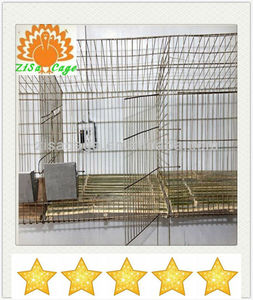 Rabbit cage/metal wire pet cages/wire rabbit cage(factory)