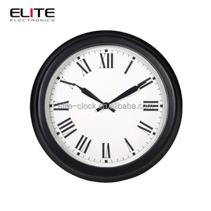 Retro Reclaimed Wood Wall Clock