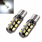 W5W T10 Car Led Bulbs 24 SMD Side Wedge Dome Light Reading Turn Signal Lamp 194 168 2835 White Warm White Iceblue 12V