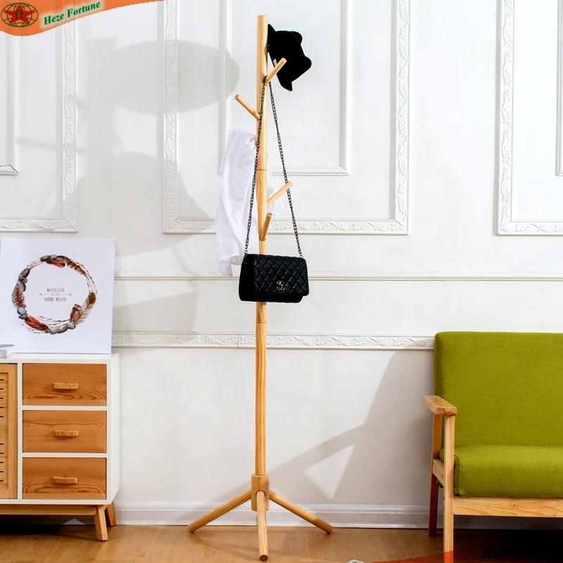 beech hat display stand coat hanging
