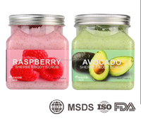 Raspberry Pore Minimizing face & body Scrub
