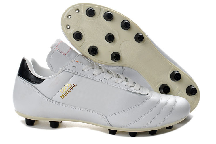 Get Quotations · New Soccer Shoes 2015 Copa Mundial FG Football Boots  White 038f0494499