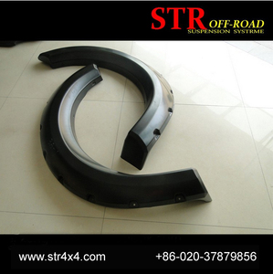 hot sell ABS plastic arch wheel fender flares for D max accessories