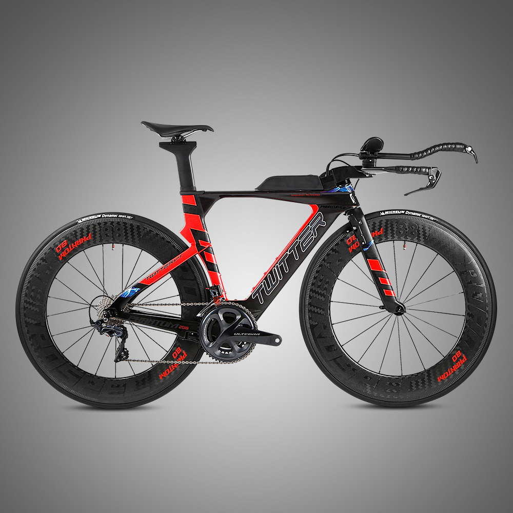 22 Speed Carbon Frame TT Road Racing Bike With Brake Disc