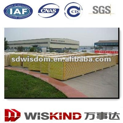 Insulated Fiber Glass Wool Sandwich Wall Panels