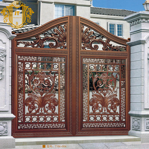 2016 Top-selling hand forged rod iron gate malaysia