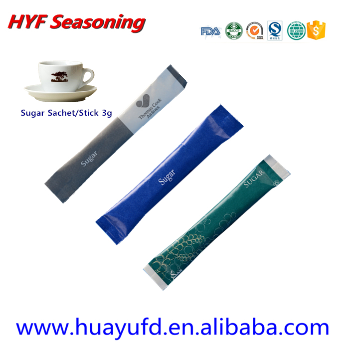 Sugar Bag One time use 5g Sugar Packet white sugar in packet for wholesale