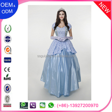Nuevo diseño de la princesa de halloween cosplay traje para dama al por mayor de china girls pretty halloween costume