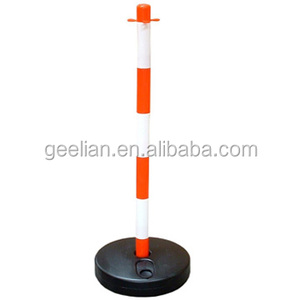 U.K Design high quality Plastic traffic collapsible delineator post For Sidewalk