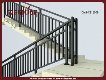 Attractive Indoor Aluminium Stair Handrail Systems With High Quality