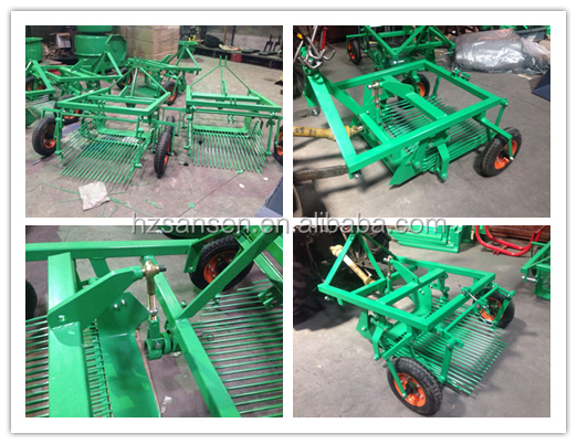Tractor 3point potato digger/sweet potato harvester machine one row