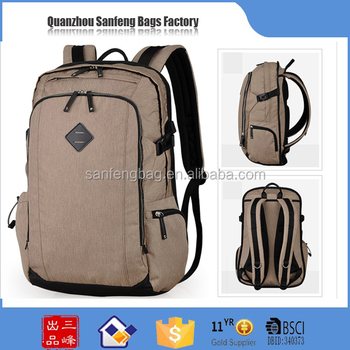 2017 BSCI Audited backpack factory