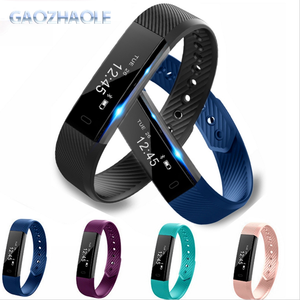 2018 fitbit Touch Screen Pedometer smart band Waterproof id115 Smart Bracelet for Samsung Android IOS BT V.4