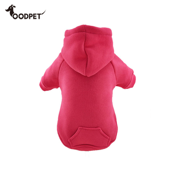 2XS-8XL Suit All Range Dog Hot Pink Basic Hoodie With Pocket
