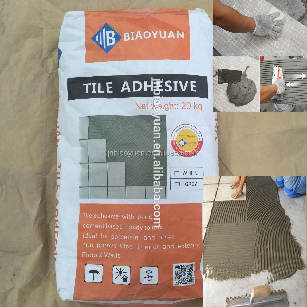 high quality polymer modified cement- based Glass Mosaic Tile Adhesive