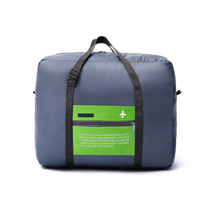 Wholesale Travel Flight Folding Bag With Handles Travel Luggage Clothes Bag