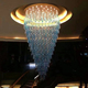 Chinese supply Popular indian Luxury villas used crystal chandelier lighting