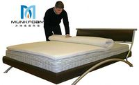 Changzhou free sample Low price ventilated queen size pillow top mattress best quality