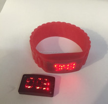 novel plastic children's LED watch
