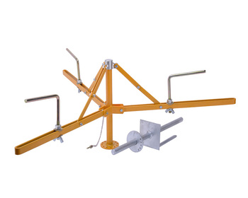 Electric Fence Adjustable 3 Arm Spinning Jenny For Goat