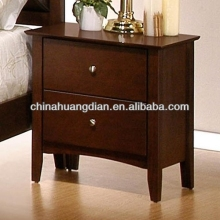 HDBT080 hilton hotel bedside table wooden Nightstands