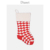 good quality folder cuff chunky thick diamond Jacquard knitted Christmas stocking