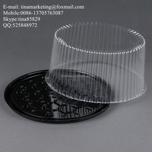 Disposable Plastic Round Birthday Cake Dome Box,2-3 Layer Cake Display Container Manufactory Price