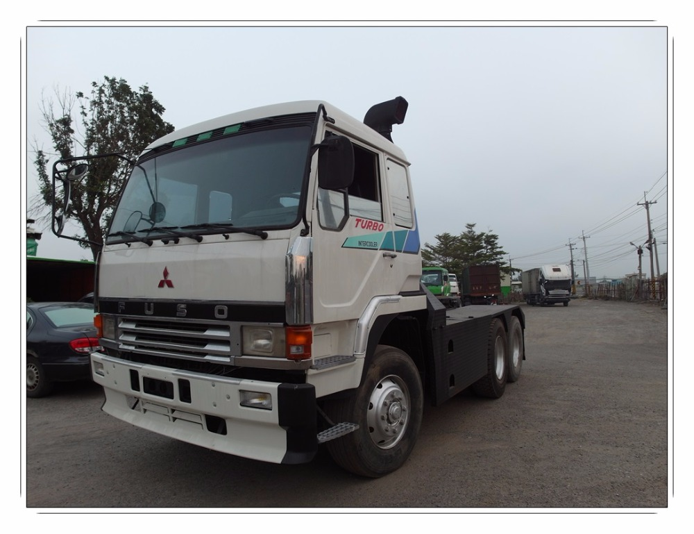857-g6] Used Fuso Tractor Truck Head