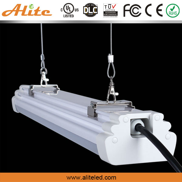 Energy Efficient Waterproof Tri Proof Luminaire 70W 8Ft Linear Led Light Bar With DLC Certified, UL Listed