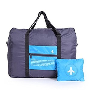 Travel Nylon Lightweight Foldable Duffel Luggage Bag for Men, Women 32 Liter