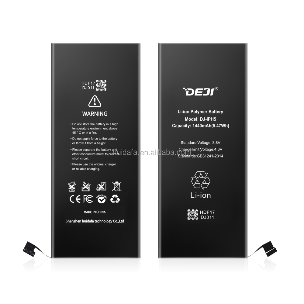 Alibaba.com / Mobile phone accessories for 5G battery DEJI top quality real 1440mah battery