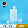 385ml 3:1 empty silicone sealant cartridge for polyurethane foam tube