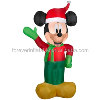top popular inflatable mickey mouse christmas decorations - Mickey Mouse Christmas Decorations