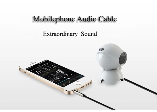 2017 New Arrival Audio Cable Light Car Audio Aux 3 5mm