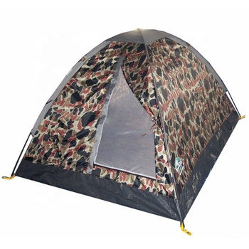 military surplus Army Camouflage blind tent single skin 1-2 man  Military Tents