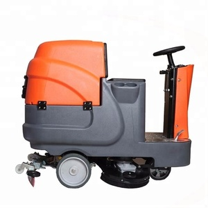 RD660 automatic walking high efficiency floor cleaning scrubber machine for sale