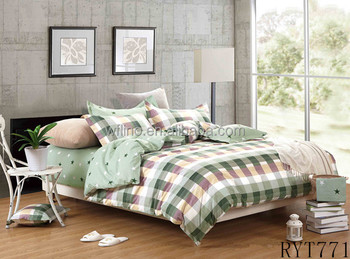 Duvet Cover Sets Screen Print Bed Sheets Cotton Bedding