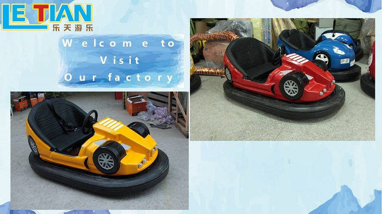 New Design Adults Amusement Electric Bumper Cars for sale Made in China